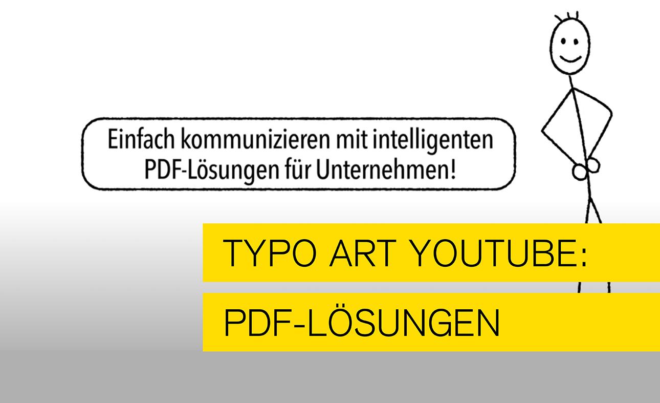 Blogbild für den Hinweis auf den Videokanal von Typoart Typo Art, Mannheim