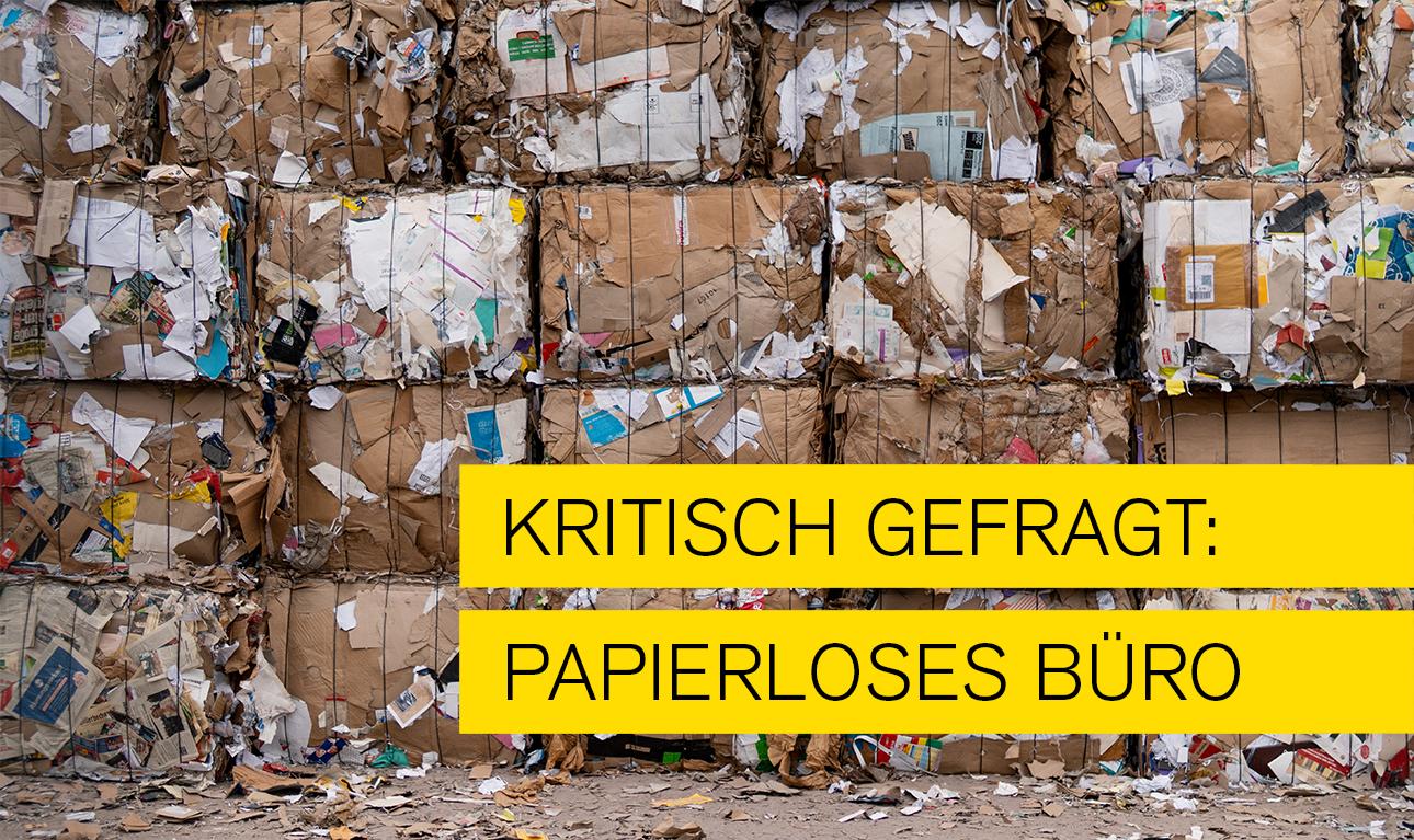 Hauptbild des Artikels zjm Thema papierloses Büro - Vorteile und gibt es auch Nachteile?