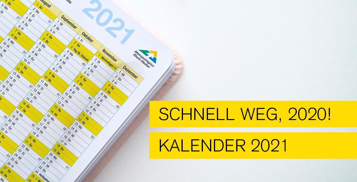 Titelbild zum Blog: Schnell weg 2020 - Kalender Download
