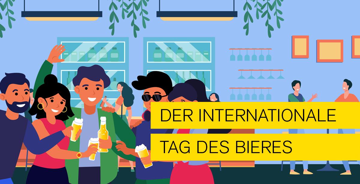 PDF-Profi Blog Internationaler Tag des Bieres. Ein Tag um Freunde zu treffen und Bier zu trinken. Blogthema von Typo Art Mannheim
